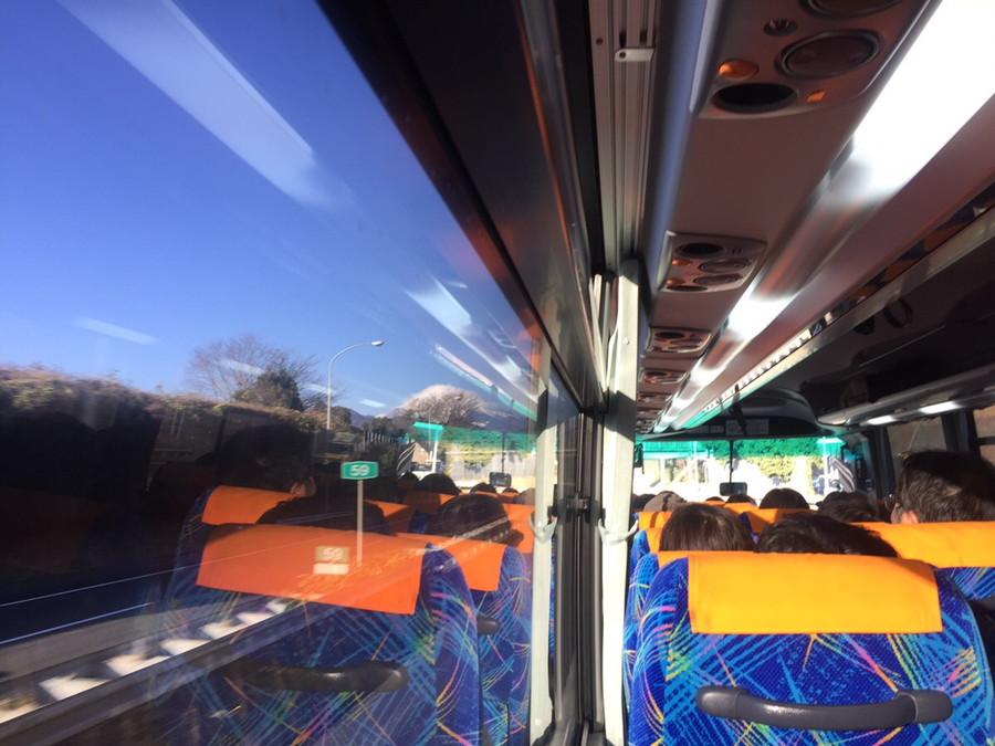 バスから見える景色